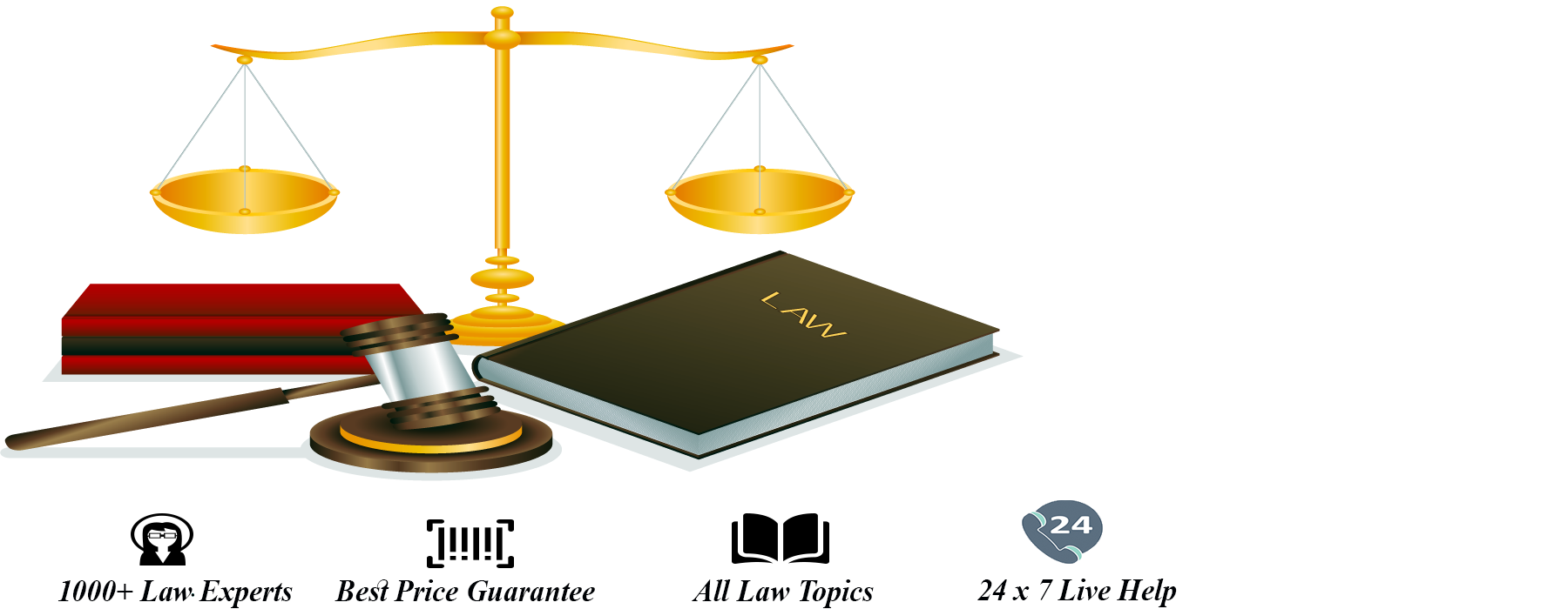 Law Assignment Help: A genuine way to get good grades in Law