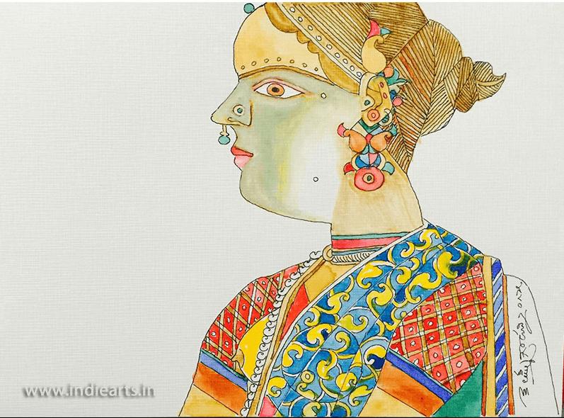 Buy Laxma Goud Paintings Online In Hyderabad   Mumbai   Delhi   India