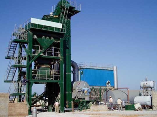 Planta De Asfalto Estacionaria - AIMIX Grupo Fabricante Profesional