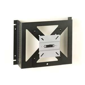 LCD monitor mounting plate