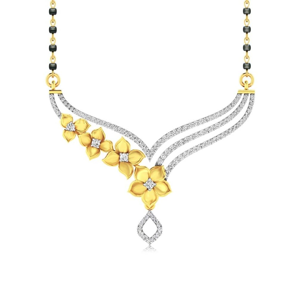 Buy Mangalsutra Designs Online Starting at Rs.6879 - Rockrush India