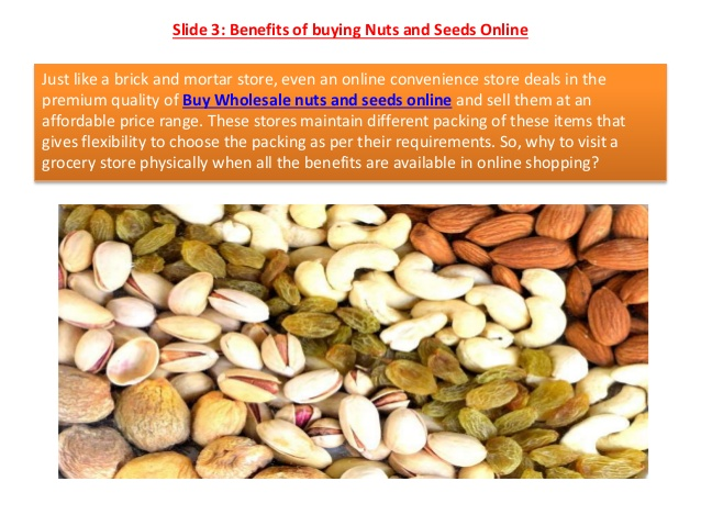 Lead a Healthy Life by Eating & Buying Premium Quality of Nuts and Seeds Online
