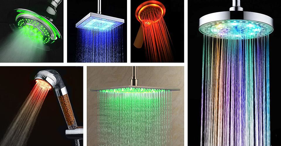 REASONS TO INSTALL AN LED SHOWER HEAD