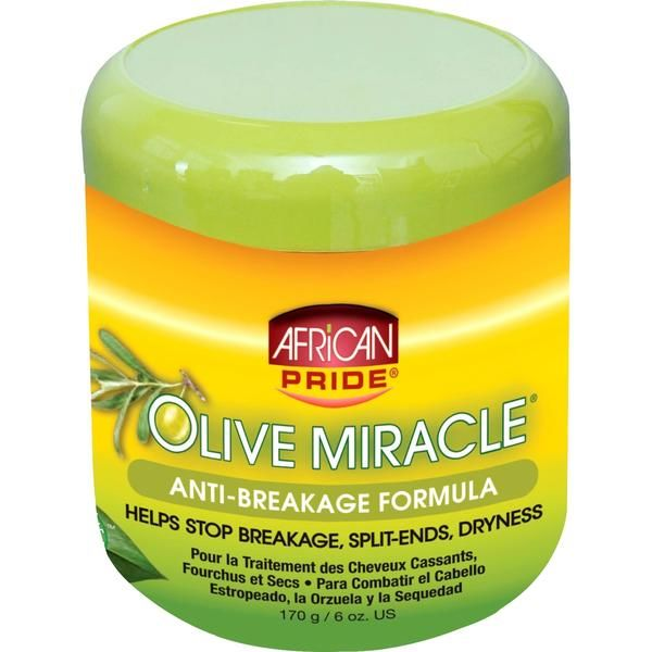 Buy Online African Pride Olive Miracle Anti-breakage Crème in UK