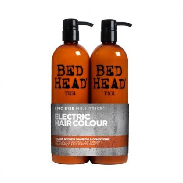 Buy Online Tigi Bed Head Colour Goddess Shampoo & Conditioner For Brunette Hair Duo Pack in UK