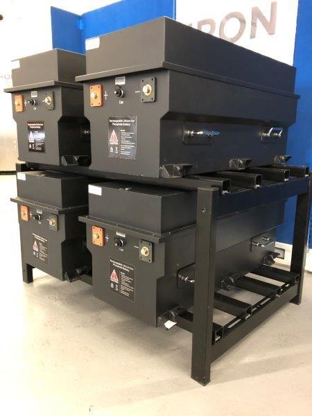 Battery Rack - 4LiFe Series Rack