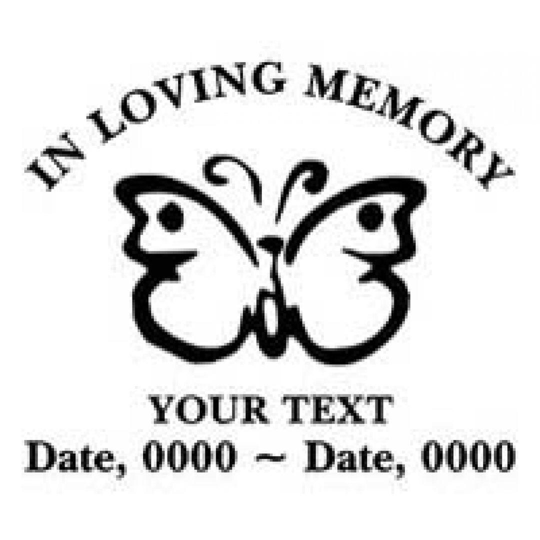 Loving Memory Decals