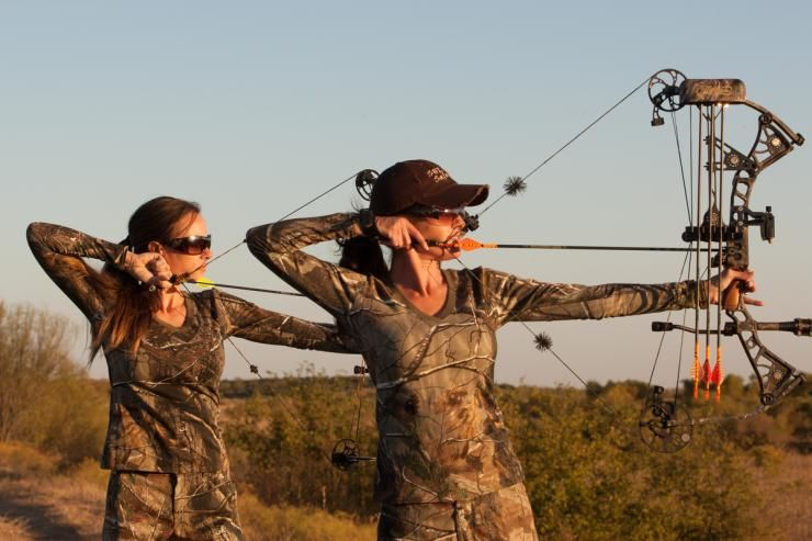 HUNTING BOW ADDS TO THE THRILL OF THE HUNT