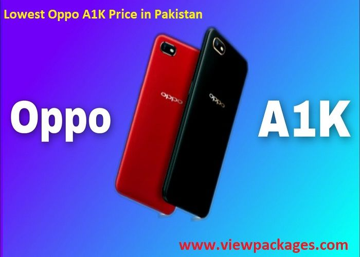 Oppo A1K Price in Pakistan Specs & Review