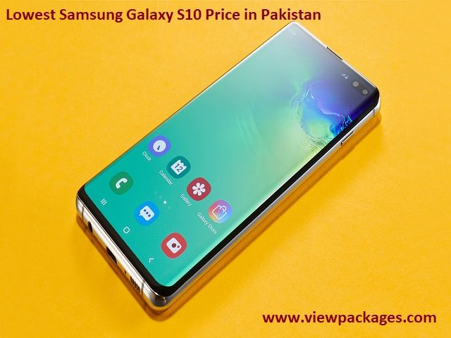 Samsung Galaxy S10 price in Pakistan and specifications