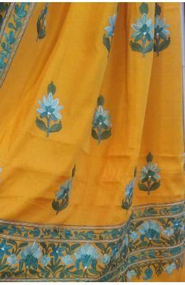 Buy Latest Kashmiri Sarees Online India at luxurionworld