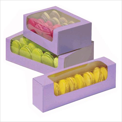 Macaron Boxes Wholesale | Custom Macarons Packaging Boxes Printing
