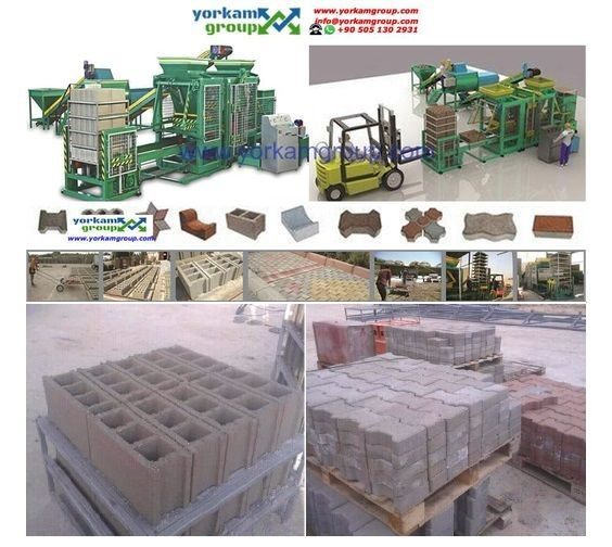 machine a bloc de beton