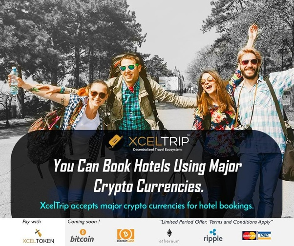 Book Hotels using Cryptocurrency for your next vacation.