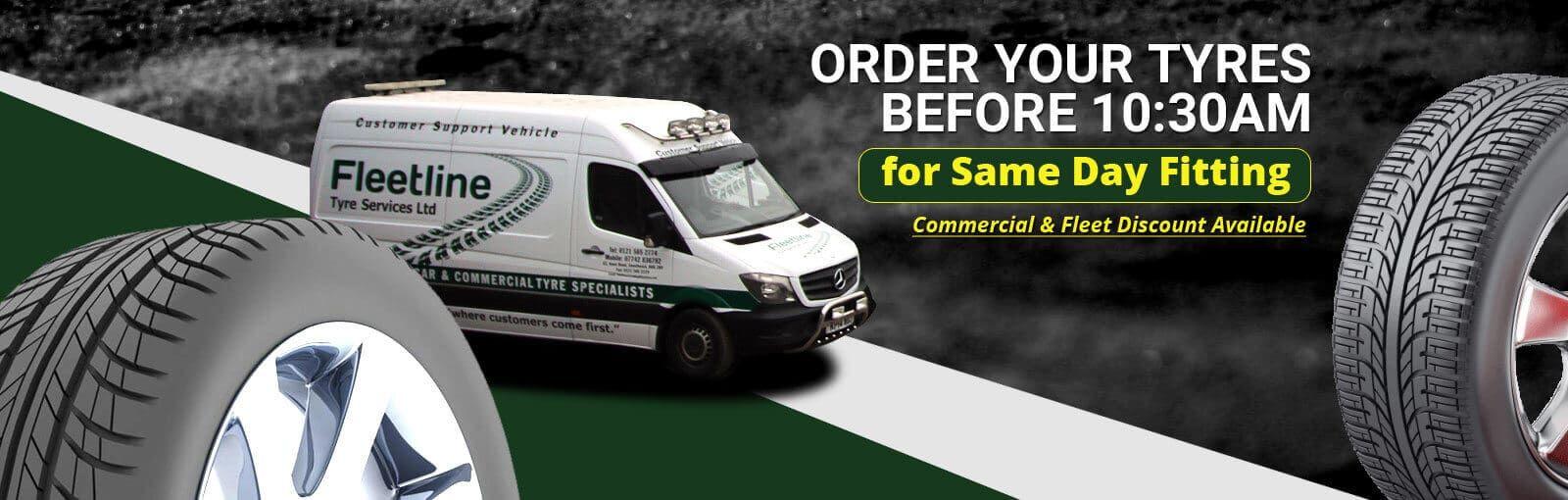 Tyres Birmingham : Commercial Truck Tyres | Fleetline Tyre Services