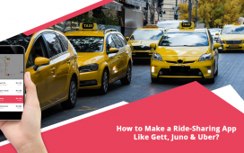 How to make a ride-sharing app like Gett, Juno & Uber? - MindxMaster