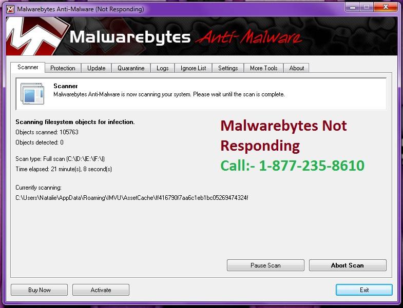 How To Solve MalwareBytes Anti-Malware Not Responding : Helpforantivirus : GroupSpaces