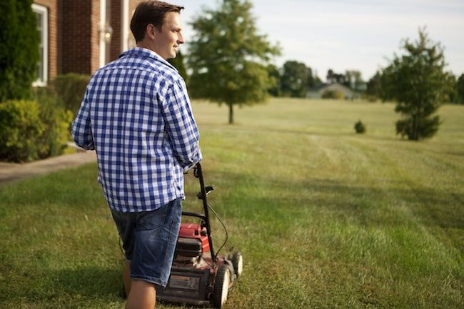 How to Use a Manual Reel Mower