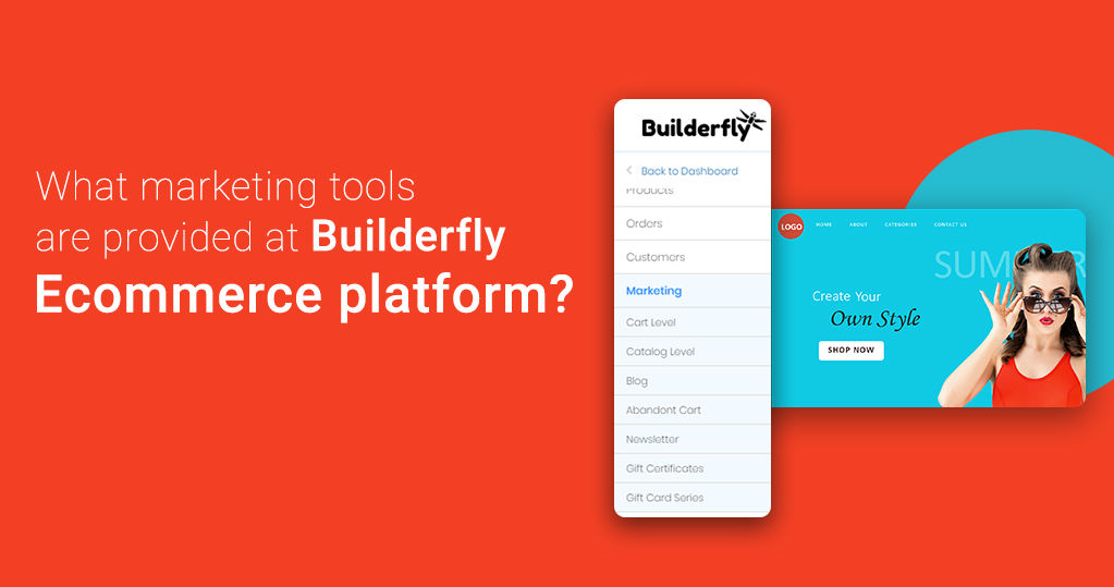 What Marketing Tools are Provided at Builderfly Ecommerce Platform?