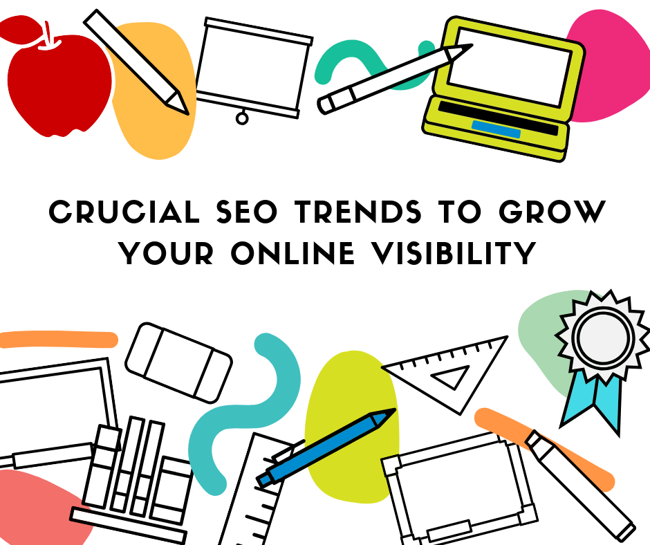 7 Crucial SEO Trends to grow your Online Visibility