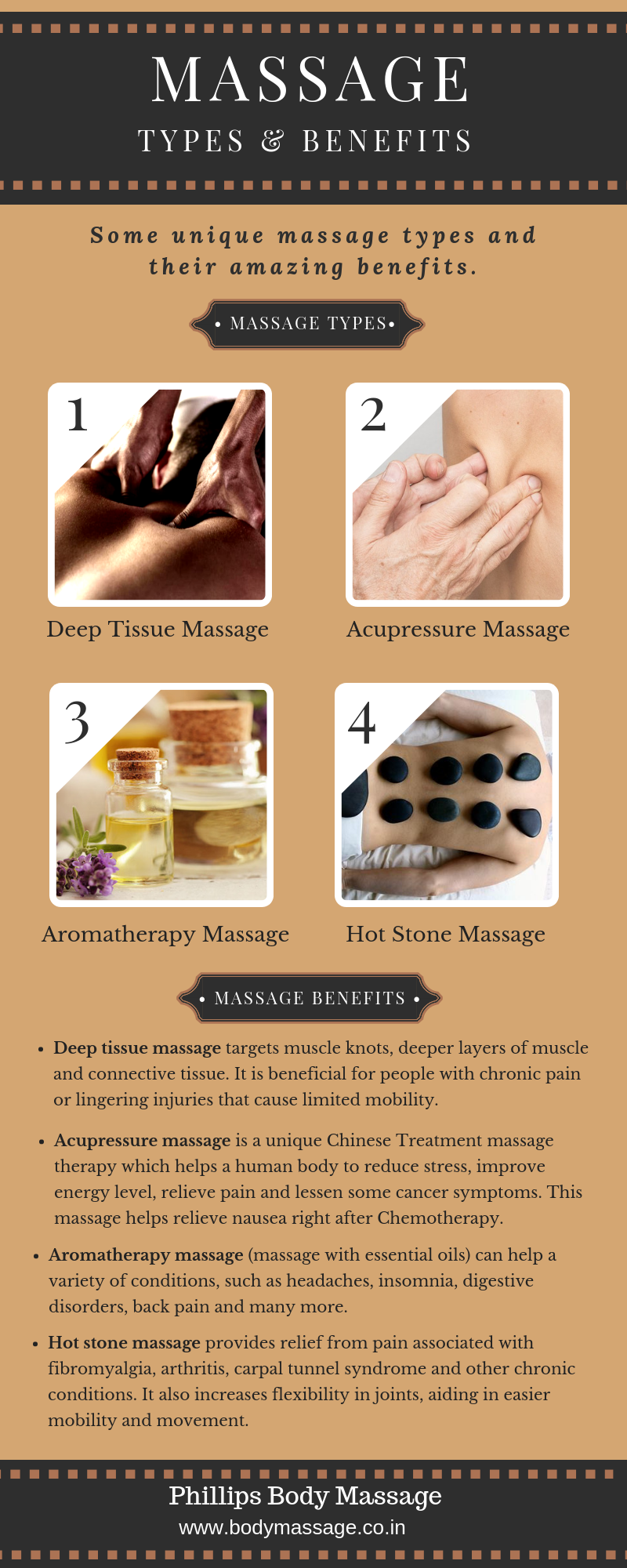 Types and Benefits of Body Massage