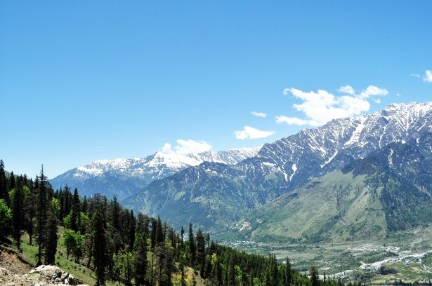 Kausani Mountain View