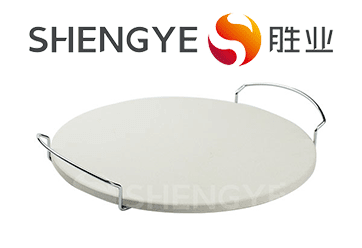 Materials which are used in manufacturing of pizza stone
