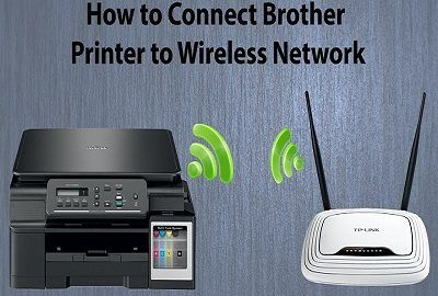 Connect brother printer to wireless network