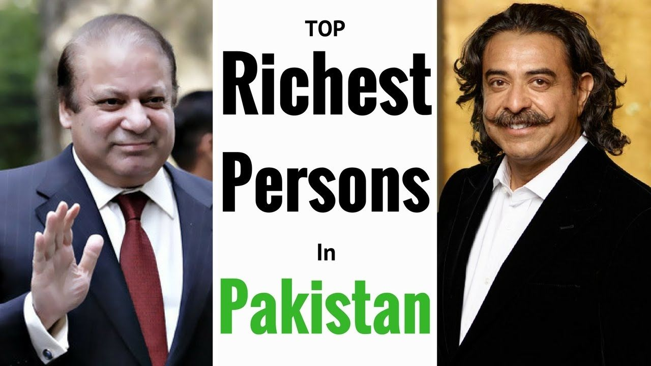 Top 5 richest Businessman of Pakistan in 2018