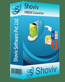 Shoviv MBOX to PST converter