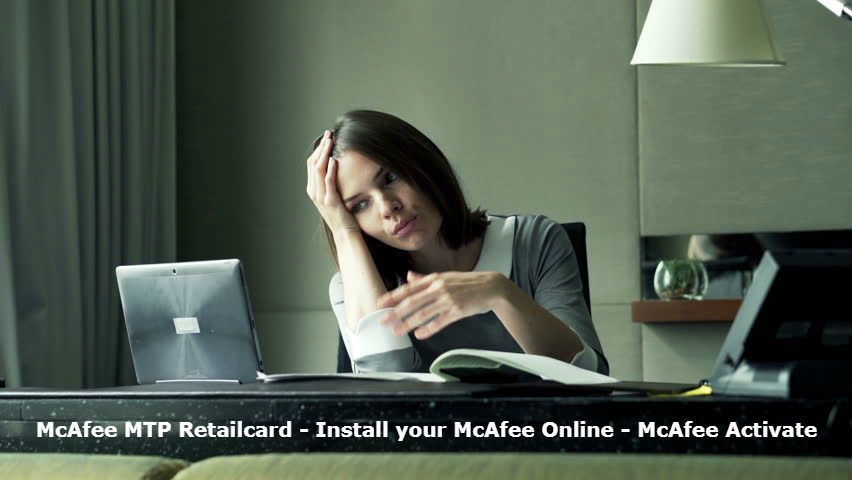 mcafee.com/mtp/retailcard | Activate McAfee Total Protection