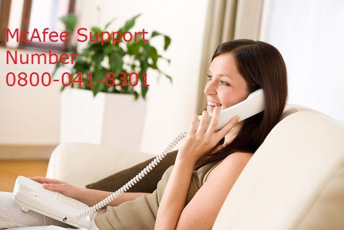 UK McAfee service provider