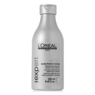 How does the Silver shampoo work?