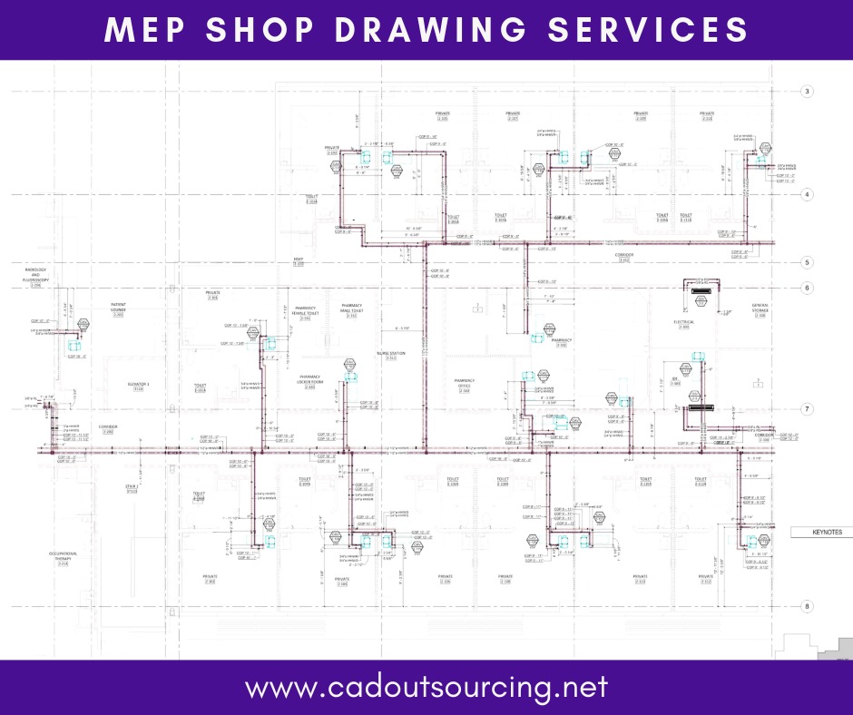 MEP Shop Drawing Services