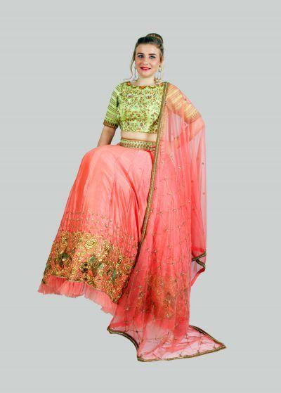 Buy Designer Indian Wedding Dresses Online - BhagyasAttire
