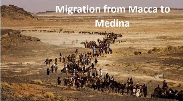 Migration from Macca to Medina