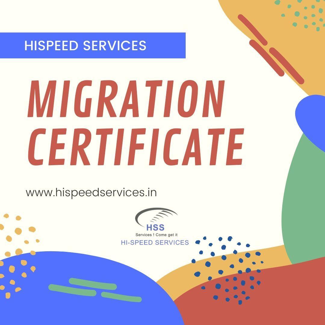 Migration certificate attestation services in Delhi, India