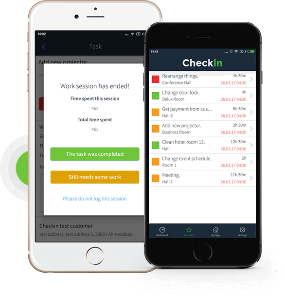Checkin | An Event Management Mobile Solution | iPhone & Android