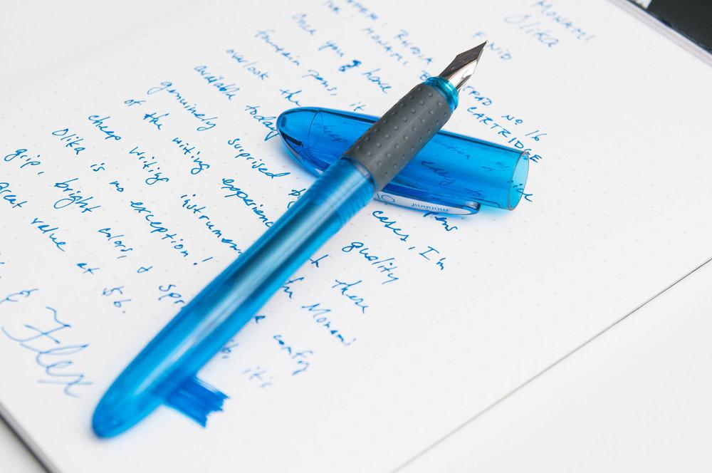 Incidents of erasable pen
