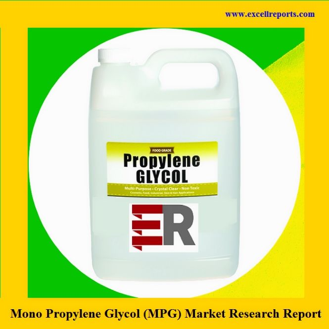 Global Mono Propylene Glycol (MPG)Market Status, Industry Overview, Trends and Outlook 2014– 2024