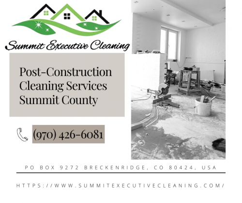 Post-Construction Cleaning Services Summit County - Gifyu