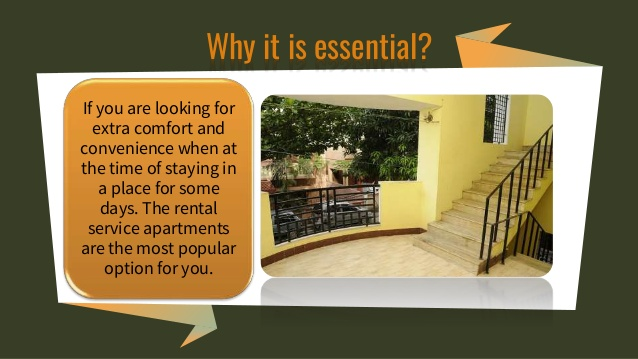 Monthly Rental Service Apartments in Chennai; A Popular Option for the Travellers