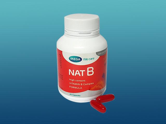 Nat B Formula Vitamin B Paling Komplit Untuk Hidup Sehat - Vhiezca Store