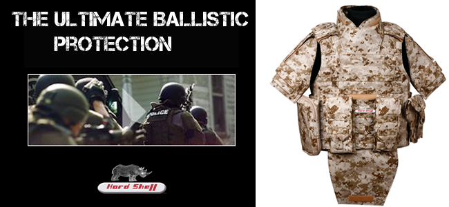 Body Armor Helps To Ensure Absolute Safety- Hard Shell