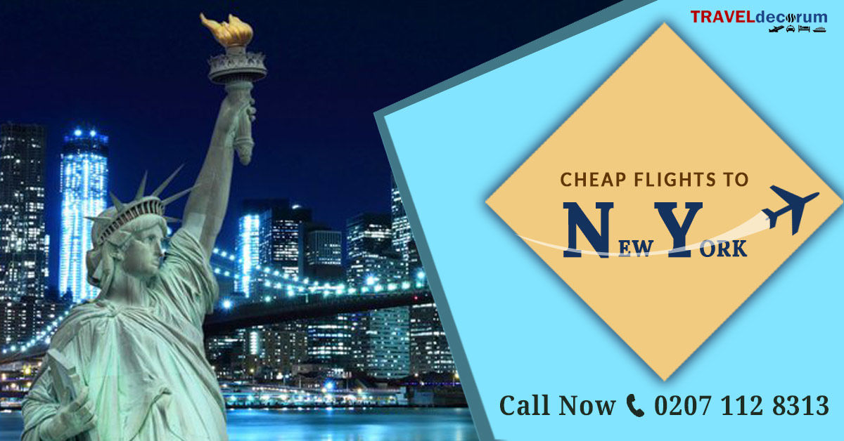 cheap flights tickets from london to new York at unbelievable prices