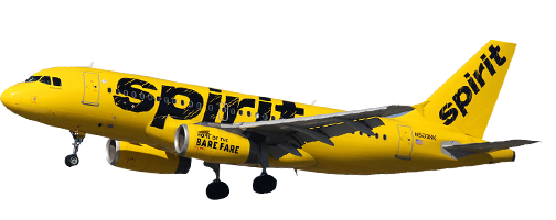 Spirit Airlines Reservations with FareMojo