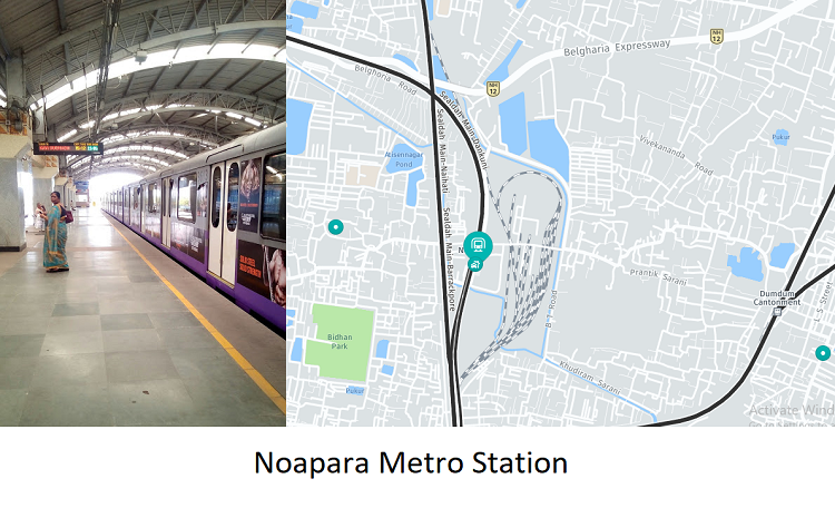 Noapara Metro Station Kolkata - Routemaps.info