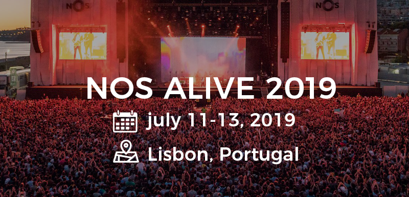 NOS alive Festival – fade away in the musical vibes!