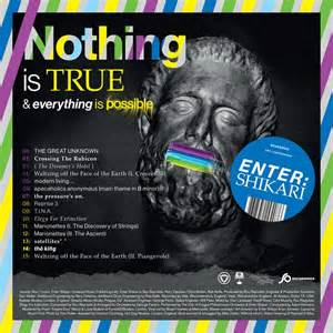 Nothing is true & everything is possible lyrics, tracklist and info - Enter Shikari album
