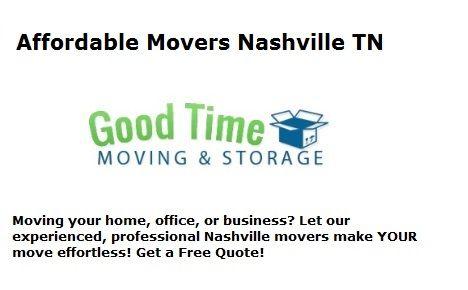 Affordable Movers Nashville TN